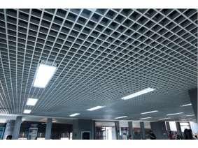 新天地商场 铝格栅效果